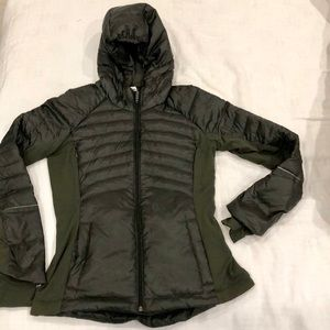 Lululemon sz 8 down for it all jacket